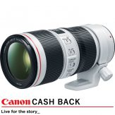 Canon EF 70-200mm f/4L IS II USM Lens (R1500 Canon Cash Back)