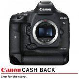 Canon 1DX Mark II DSLR Camera Body (R6000 Canon Cash Back)