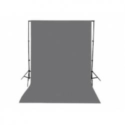 Muslin Chroma Grey Backdrop (3m x 6m) | Cameraland Sandton