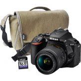 Nikon D5600 DSLR + 18-55mm AF-P DX ED VR + Bag + 16GB Card - Sandton Cameraland