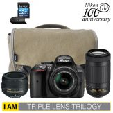Nikon D5300 Triple Lens Trilogy