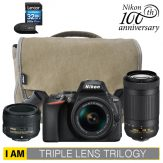 Nikon D5600 Triple Lens Trilogy