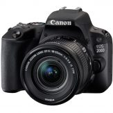 Canon EOS 200D DSLR Camera + EF-S 18-55 mm f:3.5-5.6 IS STM Lens 4
