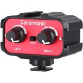 Saramonic SR-AX100 Passive 2-Channel Audio Adapter For DSLR