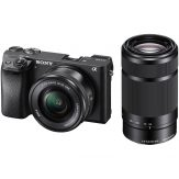 Sony Alpha a6300 Mirrorless Digital Camera With 16-50mm & 55-210mm Lenses Kit - Cameraland Sandton