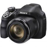Sony Cyber-shot DSC-H400 front left
