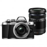 Olympus OM-D E-M10 Mark III Mirrorless Camera With 14-42mm & 40-150mm (Silver)