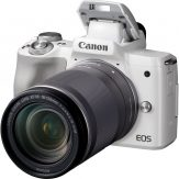 Canon EOS M50 Body + EF-M 18-150mm IS STM (White) - Cameraland Sandton