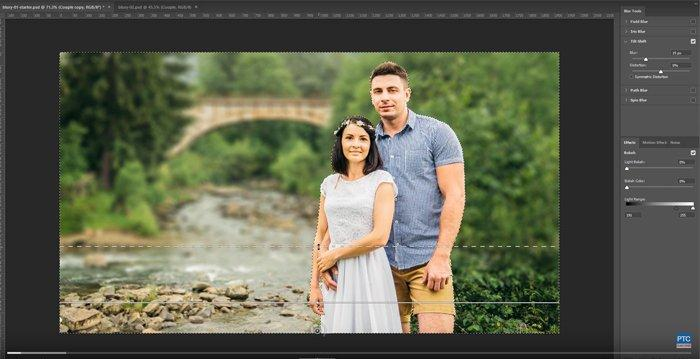 How to Fake Shallow Depth of Field Using Photoshop