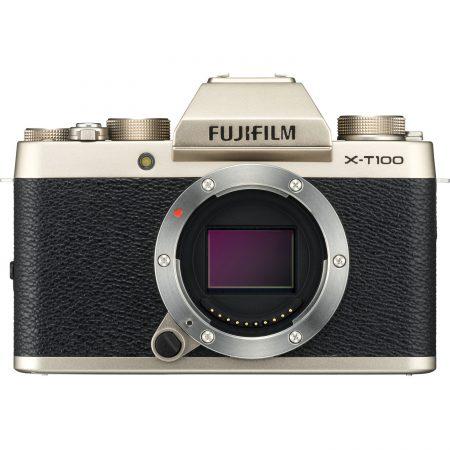 Fujifilm X-T100 Mirrorless (Champagne Gold) – Cameralnd Sandton