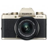 Fujifilm X-T100 Mirrorless With 15-45mm Lens (Champagne Gold)1