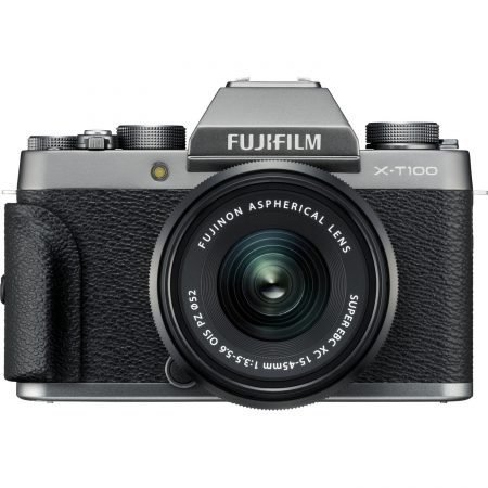 Fujifilm X-T100 Mirrorless With 15-45mm Lens (Dark Silver) 7