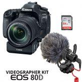 Canon 80D Videographer Kit - Cameraland Sandton