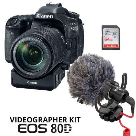 Canon 80D Videographer Kit – Cameraland Sandton