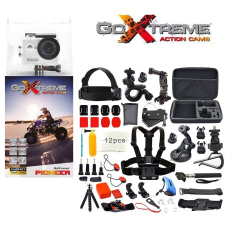 GoXtreme Pioneer Full HD Action Bundle