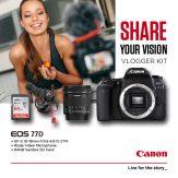 Canon 77D Vlogger Kit - Cameraland Sandton