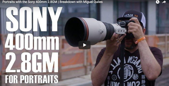 Shooting Portraits With the Sony 400mm f/2.8 GM