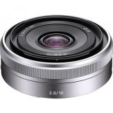 Sony E 16mm f/2.8 Lens (Silver) - Cameraland Sandton