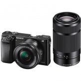 Sony a6000 Mirrorless With 16-50mm & 55-210mm Lenses (Black) - Cameraland Sandton