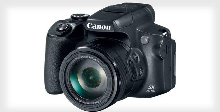Canon PowerShot SX70 HS: 65x Zoom Lens and .CR3 RAW Photos