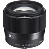 Sigma 56mm f:1.4 DC DN Contemporary Lens for Sony E - Cameraland Sandton