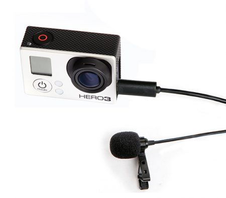 BOYA BY-LM20 Lavalier Lapel Mic for GoPro – Cameraland Sandton