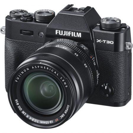 FUJIFILM X-T30 With 18-55mm Lens (Black) | Cameraland Sandton