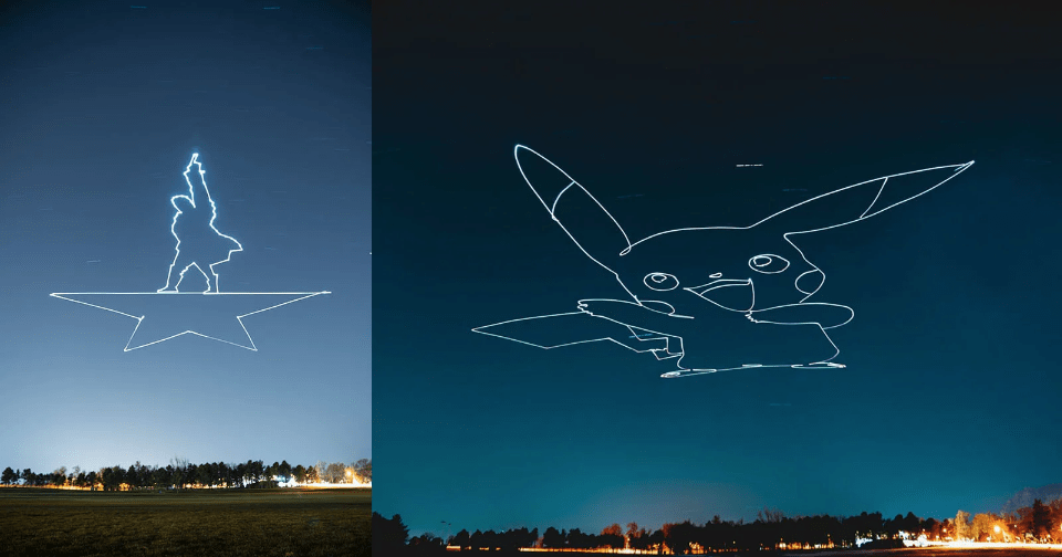 Light-Paint Giant Shapes in the Sky with a Drone | Cameraland Sandton