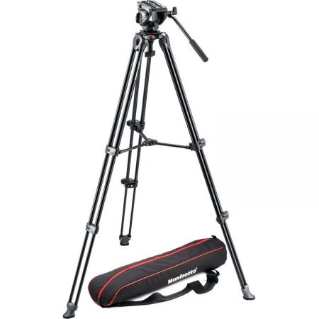 Manfrotto MVH500A + MVT502AM Tripod & Bag | Cameraland Sandton