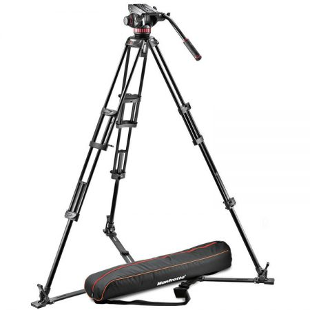 Manfrotto Pro Video Aluminium Kit MVH502A Head + 546GB Video Kit