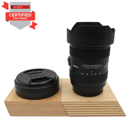 Sigma 12-24mm f/4.5-5.6 DG HSM II For Canon (Pre-owned)