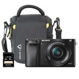 Sony Alpha a6000 Mirrorless Single Bundle