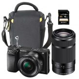 Sony Alpha a6000 Mirrorless Twin Bundle | Cameraland Sandton