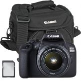 Canon 2000D + EF-S 18-55mm + Bag + Card - Cameraland Sandton