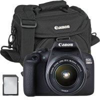 Canon 2000D + EF-S 18-55mm + Bag + Card - Cameraland Sandton