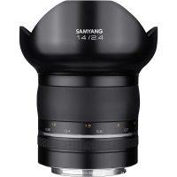 Samyang XP 14mm F2.4 Premium Manual Focus Lens AE Chip for Nikon - Cameraland Sandton