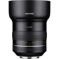 Samyang XP 85mm F1.2 Premium Manual Focus Lens AE Chip for Canon - Cameraland Sandton
