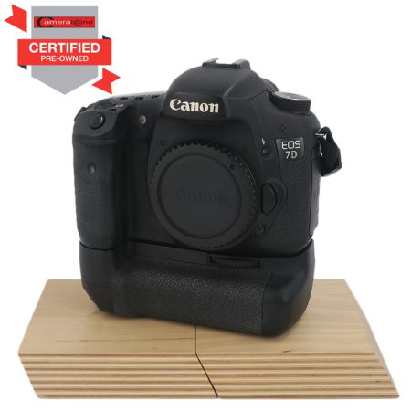 Canon EOS 7D DSLR & Grip (Pre-owned) | Cameraland Sandton