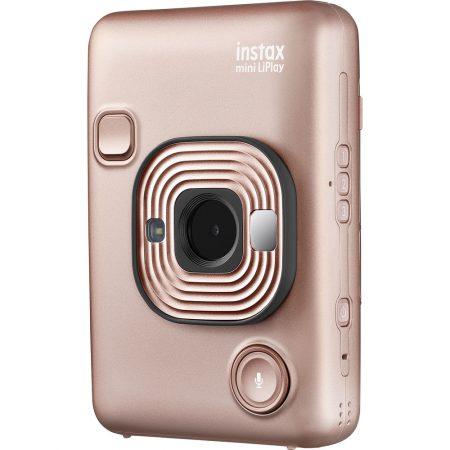 FUJIFILM INSTAX Mini LiPlay Hybrid Instant Camera (Blush Gold) (3)
