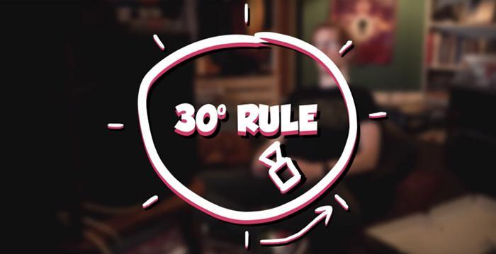 The 30-Degree Rule - A Trick All DPs and Editors Should Know | Cameraland Sandton
