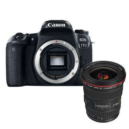 Canon 77D + Canon EF 17-40mm f/4L USM Lens – Cameraland Sandton