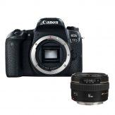 Canon 77D + Canon EF 50mm f/1.4 USM Lens - Cameraland Sandton