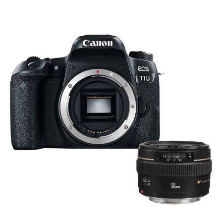 Canon 77D + Canon EF 50mm f/1.4 USM Lens – Cameraland Sandton