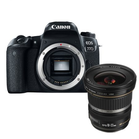 Canon 77D + Canon EF-S 10-22mm f/3.5-4.5 USM Lens – Cameraland Sandton