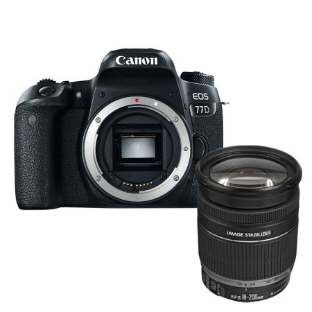 Canon 77D + Canon EF-S 18-200mm f/3.5-5.6 IS Lens – Cameraland Sandton