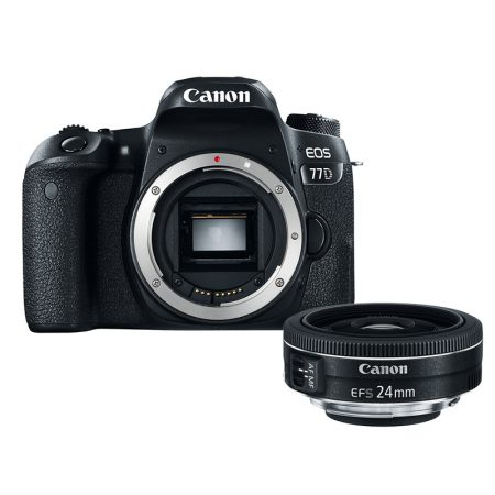 Canon 77D + Canon EF-S 24mm f:2.8 STM Lens – Cameraland Sandton