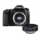Canon 80D + Canon EF-S 24mm f/2.8 STM Lens - Cameraland Sandton