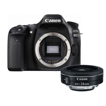 Canon 80D + Canon EF-S 24mm f/2.8 STM Lens – Cameraland Sandton