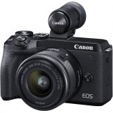 Canon M6 Mark II + 15-45mm & EVF-DC2 (Black)   Cameraland Sandton