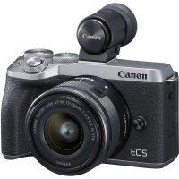 Canon M6 Mark II + 15-45mm & EVF-DC2 (Silver) | Cameraland Sandton